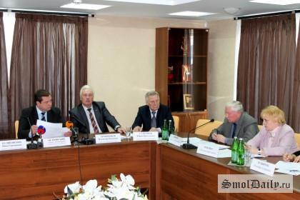 Встреча регионального актива ОНФ с губернатором Смоленской области 27 ноября 2014 г. (1)