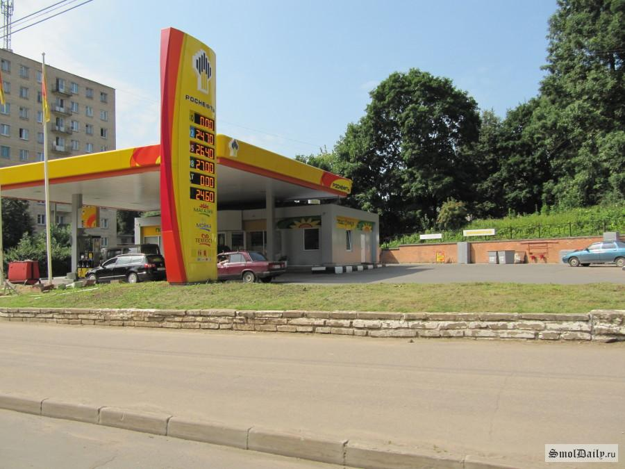 ВКрасноярске вкоторый раз подорожал бензин