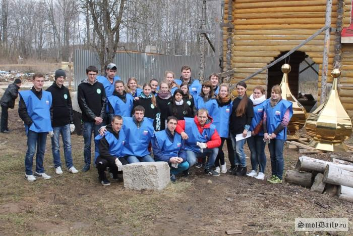 Студенты Смоленской сельхозакадемии поддержали воспитанников «Вишенок»