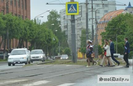 пешеходы, дети