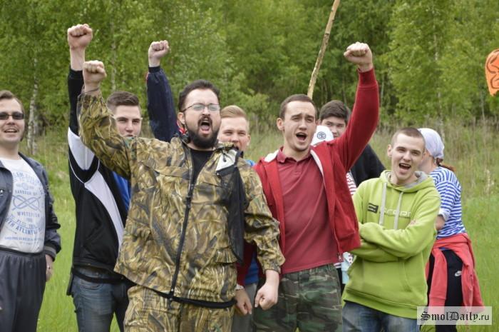 Под Смоленском прошёл студенческий турслёт