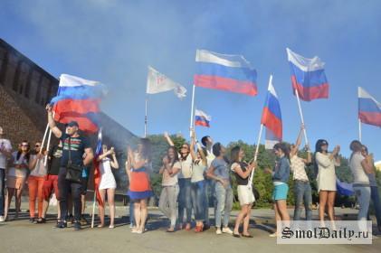 день россии, россия, флаг