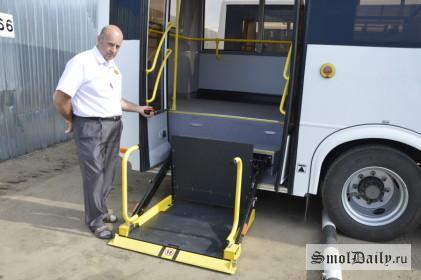 автобусы, инвалиды