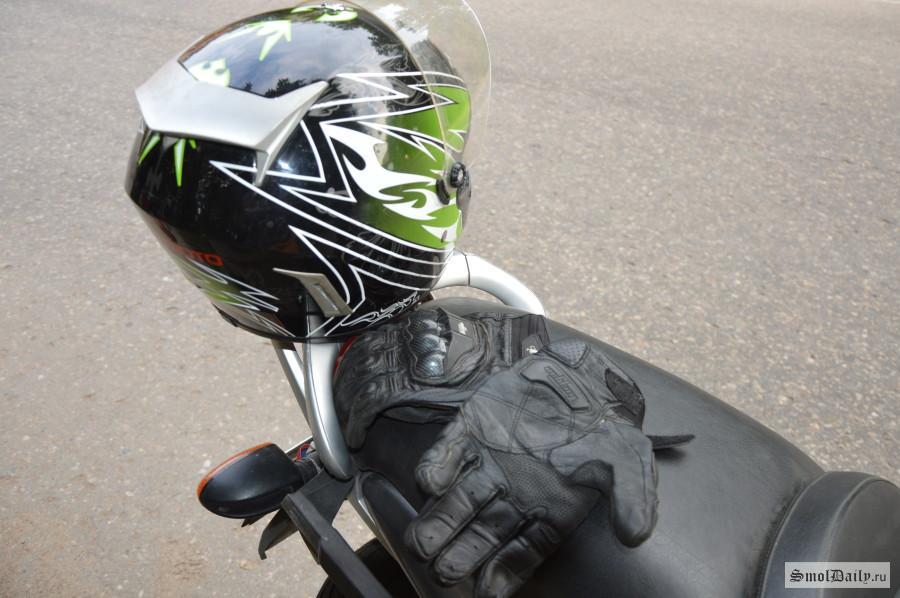 19-летний смолянин угнал гоночный мотоцикл