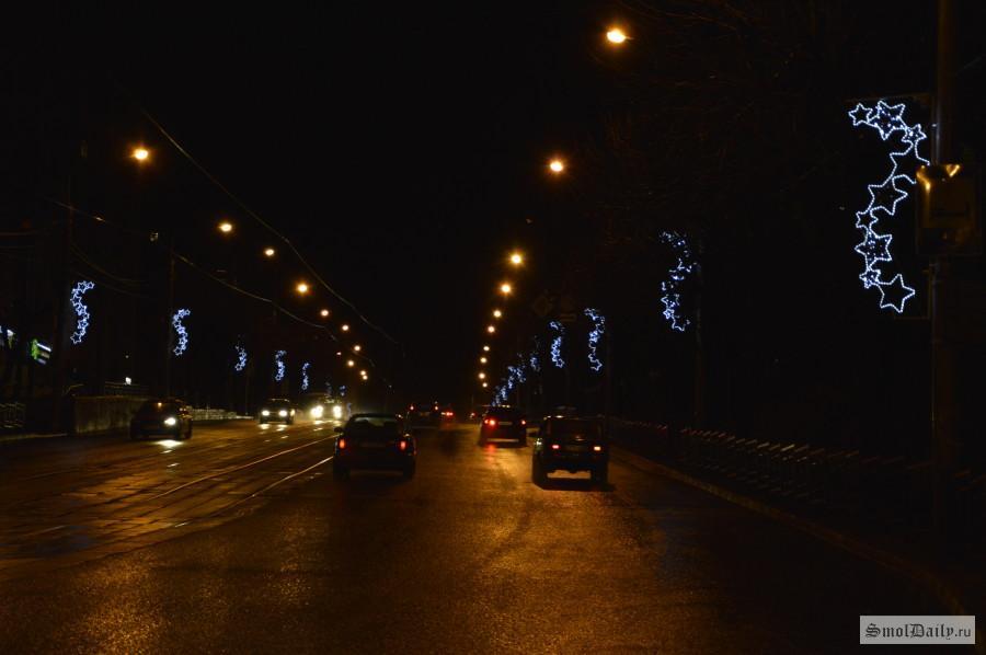 Вадминистрации Смоленска создали рабочую группу пореконструкции уличного освещения