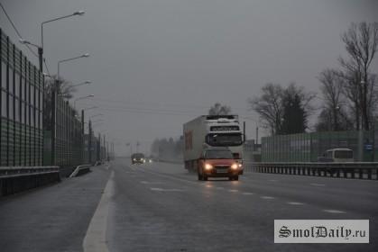 Р-120, трасса, дорога