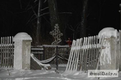 кладбище, крест