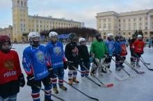каток, хоккей