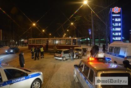ДТП,трамвай,авария