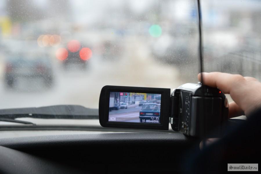 Скрытый видеорегистратор для пешеходов