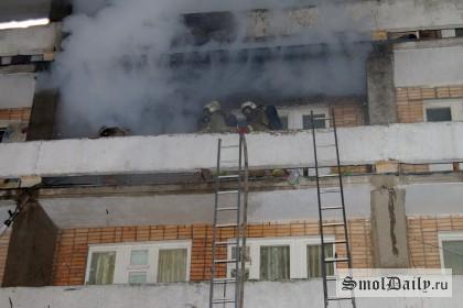 пожар,эвакуация,мчс, Медуниверситет, общежитие