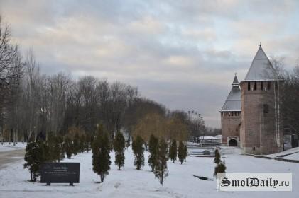 смоленск, крепостная, центр, город