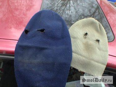 маски, грабители