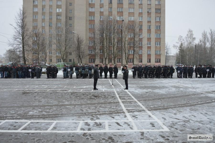 В Российской Федерации  силовики провели учения поразгону массовых протестов