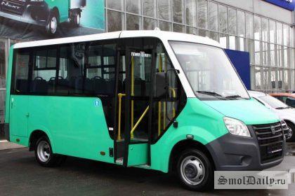 ГАЗель Next - новое поколение маршруток отечественного производства, пришедших на смоленские маршруты