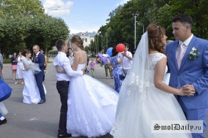 День семьи, любви и верности, свадьба