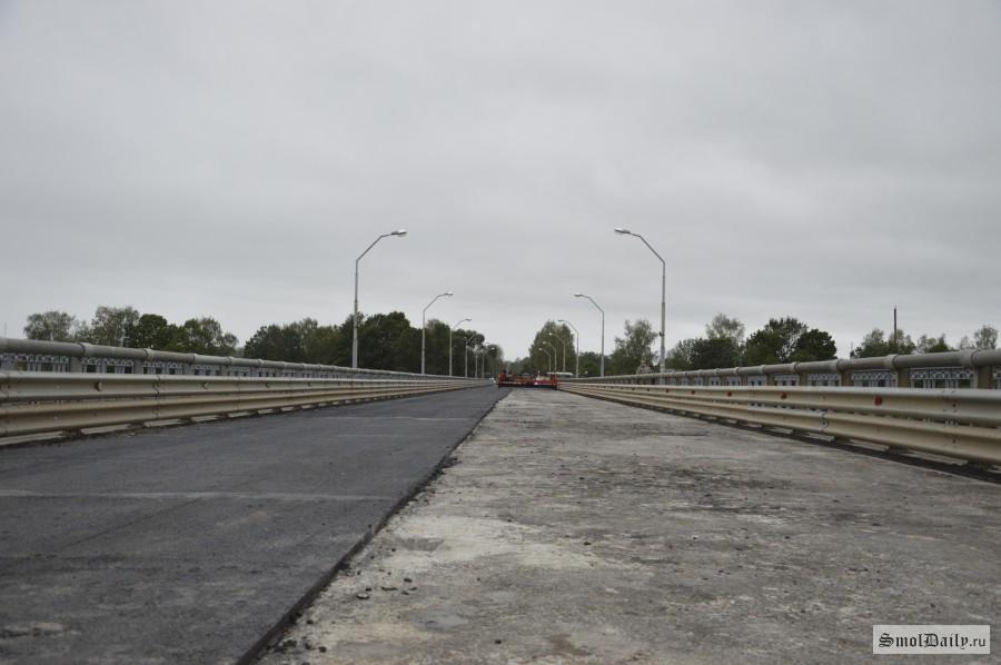 ВВелиже Смоленской области открыли мост через Западную Двину