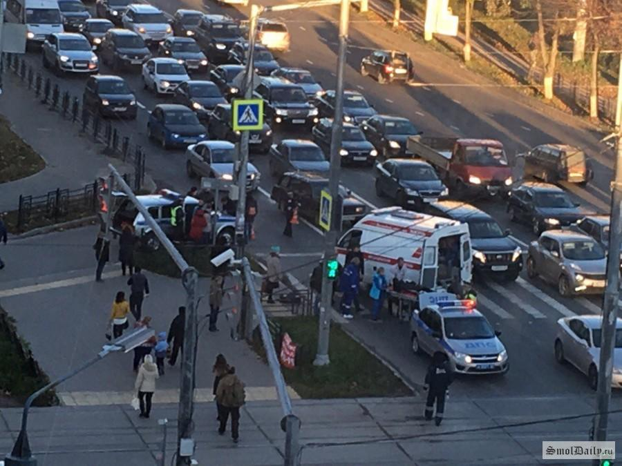 Автомобилистка сбила на«зебре» двоих пешеходов