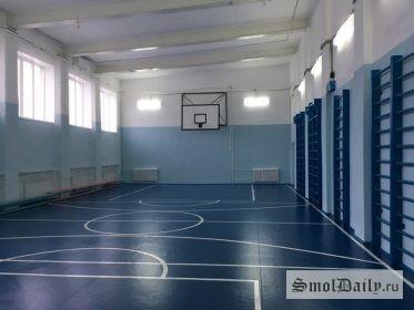 спортзал, спортивный зал, Сычёвка