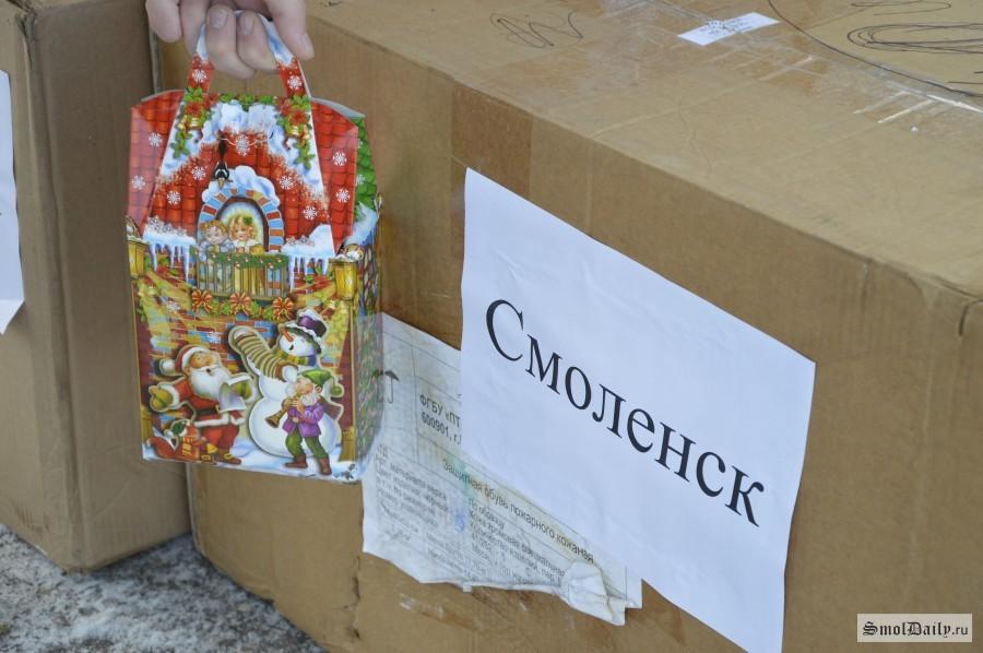 Новогодние подарки собрали калужане для детей изУкраины