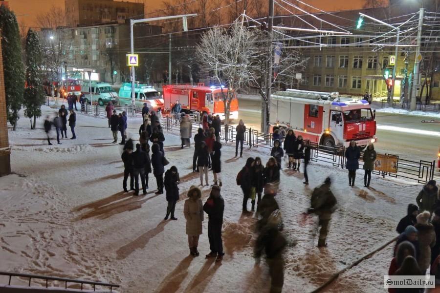 ВСмоленске опять произошел пожар встуденческом общежитии Медуниверситета