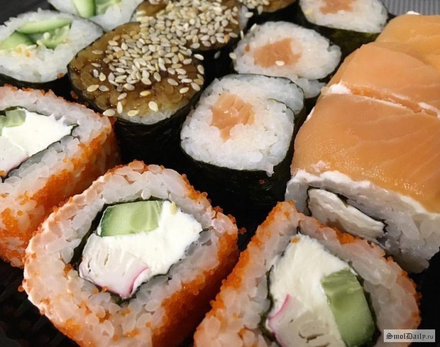 Грабеж «по-японски». ВСмоленске курьера едва непогубили суши