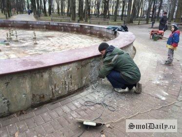 ремонт фонтана