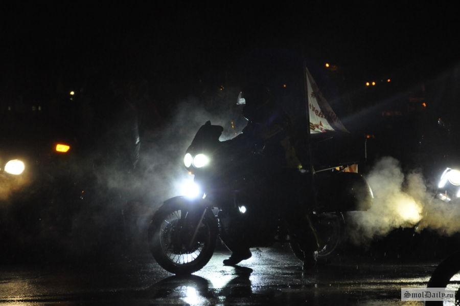 «Ночные волки» через Смоленск пойдут наБерлин