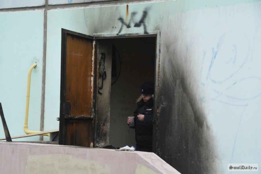 ВСмоленске произошел взрыв вдевятиэтажном доме