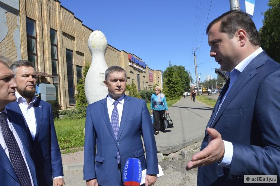 ВСмоленске нашлись деньги наремонт «убитого» участка улицы Николаева