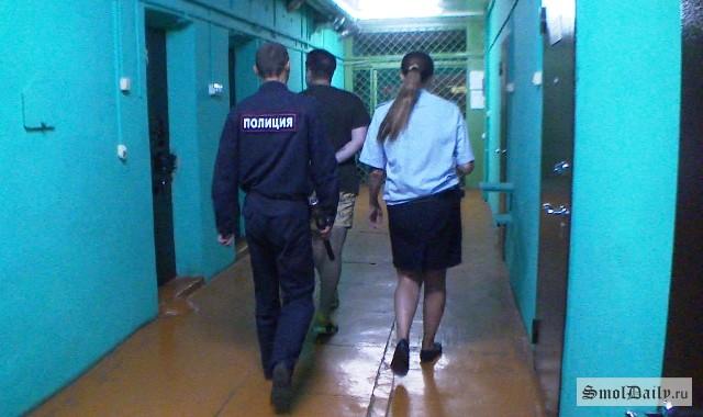 ВСмоленске 2-х парней словили на«закладке» крупной партии наркотиков