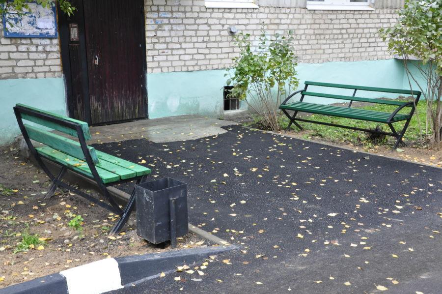 В 3-х городах Смоленской области завершили благоустройство дворов